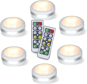 Puck Lights With Remote