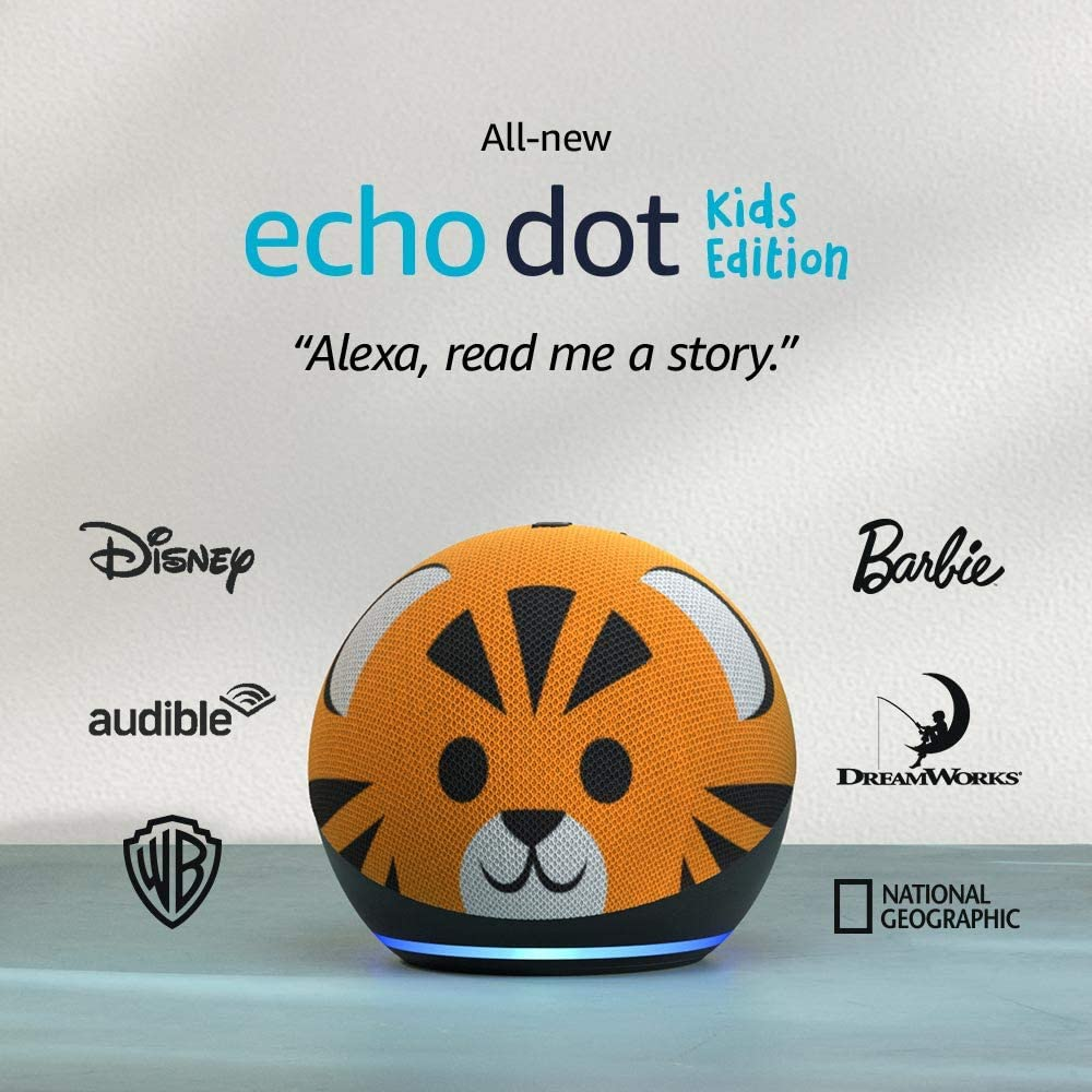 All-new Echo Dot (4th Gen) Kids Edition | Designed for kids