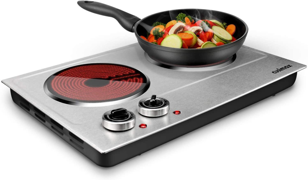 CUSIMAX 1800W Ceramic Electric Hot Plate for Cooking