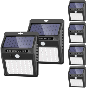 Solar Lights Outdoor [42 LED/3 Working Mode]