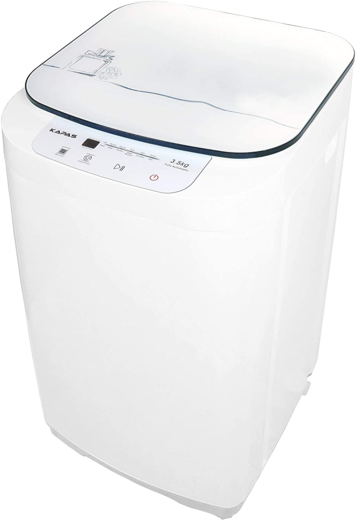 kapas upgraded fully automatic 2-in-1 washer and spin dryer