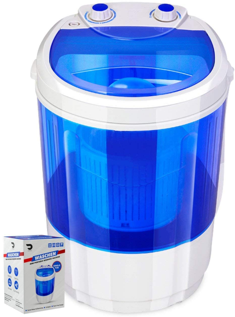 Portable Single Tub Washer And Dryer