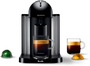 Nespresso Vertuo Coffee and Espresso Maker by Breville Black and bestselling vertuoline coffees