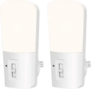 LOHAS Dimmable Night Light, Plug-in LED